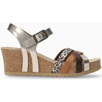 Chaussures Femme Sandales et Nu-pieds Mephisto Sandales compensées LANNY Argent