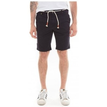 Vêtements Homme Shorts   Bermudas Ritchie Bermuda chino BOSCO Bleu marine 89958fe370f