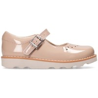 Chaussures Fille Ballerines / babies Clarks Crown Jump Beige