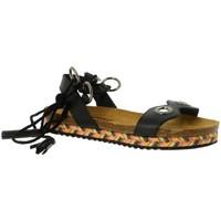 Chaussures Femme Sandales et Nu-pieds Santafe benavente noir