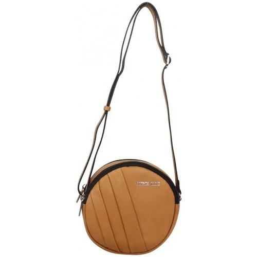 comment acheter acheter de nouveaux beau Petit sac rond bandoulière cuir marron camel