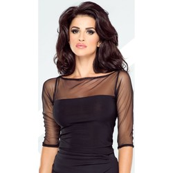 Vêtements Femme Chemises / Chemisiers Ivon Chemisier model 87045 noir