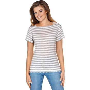 Vêtements Femme Chemises / Chemisiers Babell Chemisier model 114104 gris