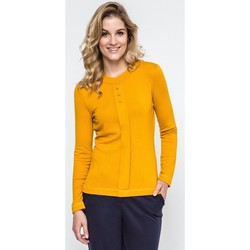 Vêtements Femme Pulls Enny Chemisier model 103999 jaune