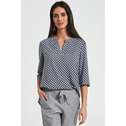 Vêtements Femme Chemises / Chemisiers Enny Chemisier model 113997 bleu