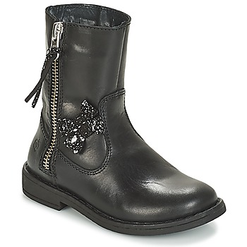 Chaussures Fille Boots Citrouille et Compagnie JARINDA Noir