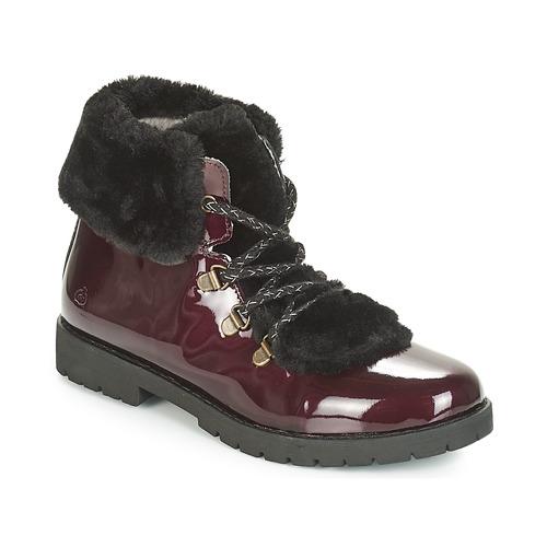 Chaussures Fille Boots Citrouille et Compagnie JITTER Bordeaux