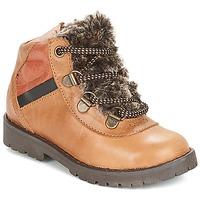 Chaussures Garçon Boots Citrouille et Compagnie JODILAEM Cognac