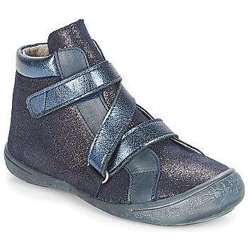 Chaussures Fille Boots Citrouille et Compagnie JISSOU Bleu