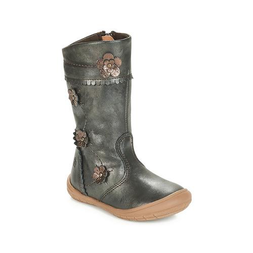 Chaussures Fille Bottes ville Citrouille et Compagnie AMATIS Bronze