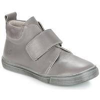 Chaussures Garçon Boots Citrouille et Compagnie FOJAMO Gris