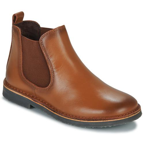 Chaussures Enfant Boots Citrouille et Compagnie HOVETTE Camel