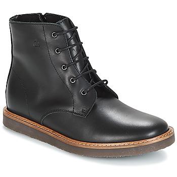 Chaussures Enfant Boots Citrouille et Compagnie JENKI Noir