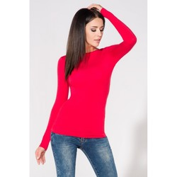 Vêtements Femme Tops / Blouses Tessita Chemisier model 61742 rouge