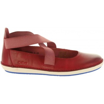 Chaussures Femme Ville basse Kickers 609180-50 FOLLY Rojo