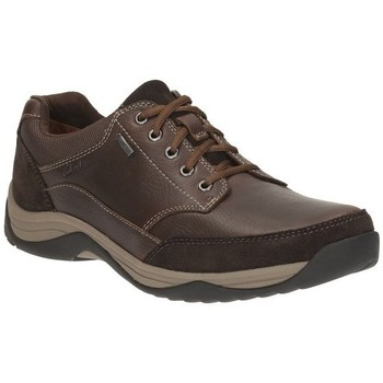 Chaussures Homme Baskets basses Clarks Baystonego Gtx Marron
