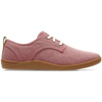 Chaussures Homme Baskets basses Clarks Mapped Mix Rose