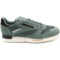 Chaussures Homme Baskets mode Reebok Sport BASKET CL LEATHER RIPPLE SN VERT DE GRIS