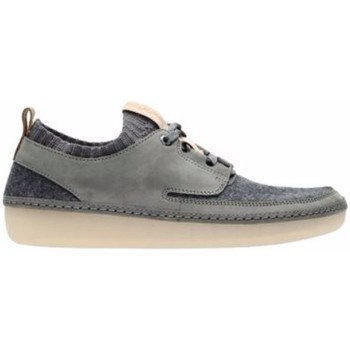 Chaussures Femme Baskets basses Clarks Nature IV Gris