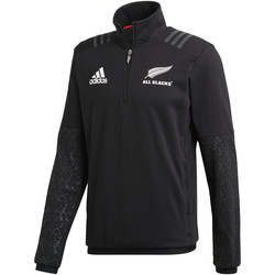 Vêtements Homme Polaires adidas Performance Veste All Blacks Fleece Noir / Orange