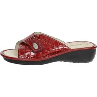 Chaussures Femme Mules Sanycom 1025 Mules Femme Rouge Rouge