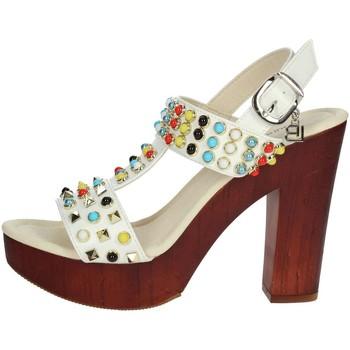 Chaussures Femme Sandales et Nu-pieds Laura Biagiotti 1010-X3 Sandale Femme Blanc Blanc