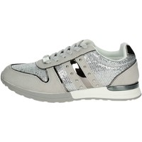 Chaussures Femme Baskets basses Laura Biagiotti 679 Petite Sneakers Femme Gris glace Gris glace