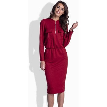 Vêtements Femme Robes Lemoniade Robe de jour model 66629 rouge