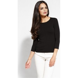 Vêtements Femme Pulls Dursi Chemisier model 68116 noir