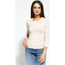 Vêtements Femme Tops / Blouses Dursi Chemisier model 68150 beige