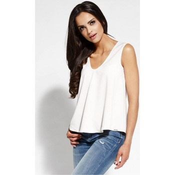 Vêtements Femme Tops / Blouses Dursi Chemisier model 68173 beige