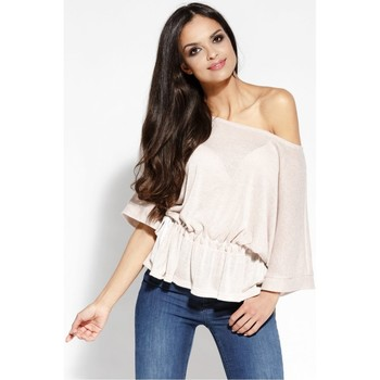 Vêtements Femme Tops / Blouses Dursi Chemisier model 68176 rosé