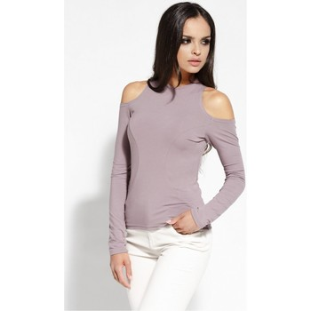 Vêtements Femme Tops / Blouses Dursi Chemisier model 68228 rosé