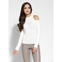 Vêtements Femme Tops / Blouses Dursi Chemisier model 68229 beige