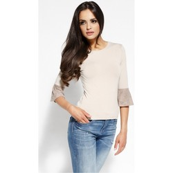 Vêtements Femme Chemises / Chemisiers Dursi Chemisier model 68235 beige