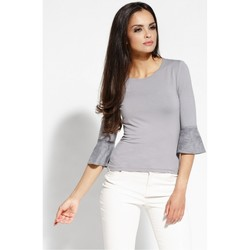 Vêtements Femme Chemises / Chemisiers Dursi Chemisier model 68233 gris