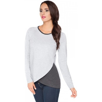 Vêtements Femme Pulls Rawear Chemisier model 71391 gris