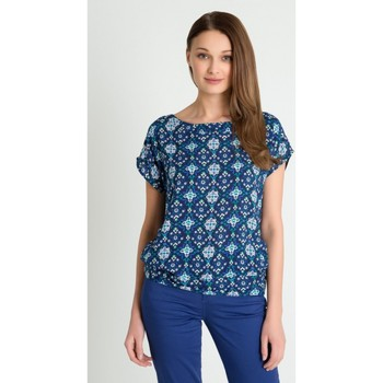 Vêtements Femme Chemises / Chemisiers Greenpoint Chemisier model 80640 bleu marine