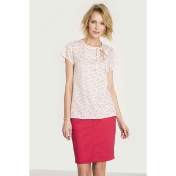 Vêtements Femme Chemises / Chemisiers Greenpoint Chemisier model 115252 rosé