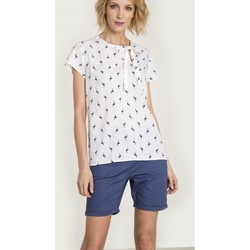 Vêtements Femme Chemises / Chemisiers Greenpoint Chemisier model 115251 blanc