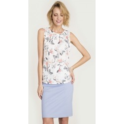 Vêtements Femme Chemises / Chemisiers Greenpoint Chemisier model 115256 blanc