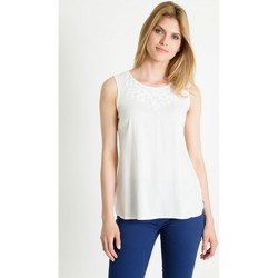 Vêtements Femme Tops / Blouses Greenpoint Chemisier model 86371 blanc