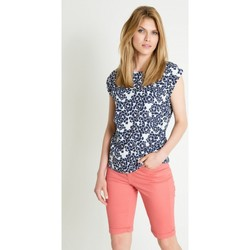 Vêtements Femme Chemises / Chemisiers Greenpoint Chemisier model 86370 bleu marine