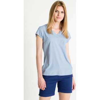 Vêtements Femme Chemises / Chemisiers Greenpoint Chemisier model 86375 bleu