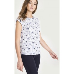 Vêtements Femme Chemises / Chemisiers Greenpoint Chemisier model 115323 blanc