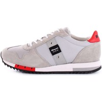 Chaussures Homme Baskets basses Blauer 8SQUINCY01/NYL BASKETS Homme Gris