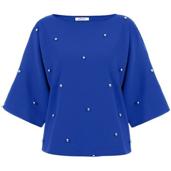 Vêtements Femme Chemises / Chemisiers Bien Fashion Chemisier model 116872 bleu