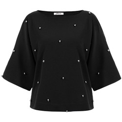 Vêtements Femme Chemises / Chemisiers Bien Fashion Chemisier model 116870 noir