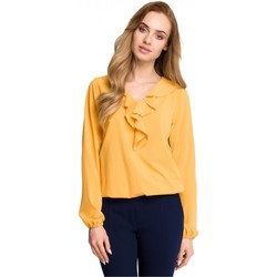 Vêtements Femme Chemises / Chemisiers Style Chemisier model 116673 jaune