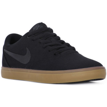 Chaussures Homme Baskets basses Nike SB CHECK SOLAR CANVAS Nero
